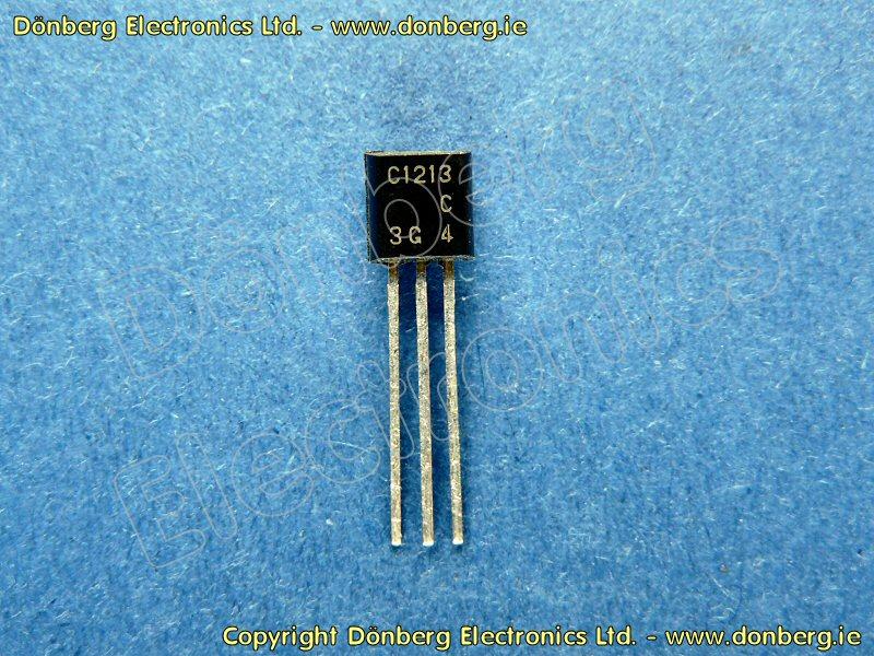 Semiconductor: 2SC1213 (2SC 1213) - TRANSISTOR SILICON NPN / 35V