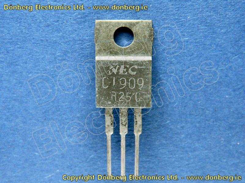 Semiconductor: 2SC1909 (2SC 1909) - TRANSISTOR SILICON NPN / 75V