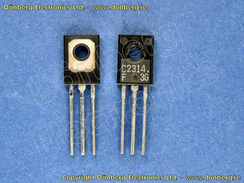 Semiconductor: 2SC2314 (2SC 2314) - TRANSISTOR SILICON NPN / 45V
