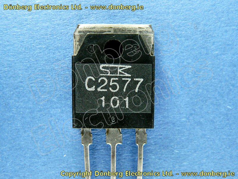 Semiconductor: 2SC2577 (2SC 2577) - TRANSISTOR SILICON NPN
