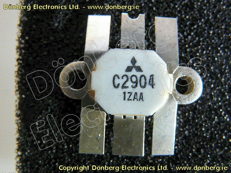 Semiconductor: 2SC2904 (2SC 2904) - NPN EPITAXIAL PLANAR RF POWER.