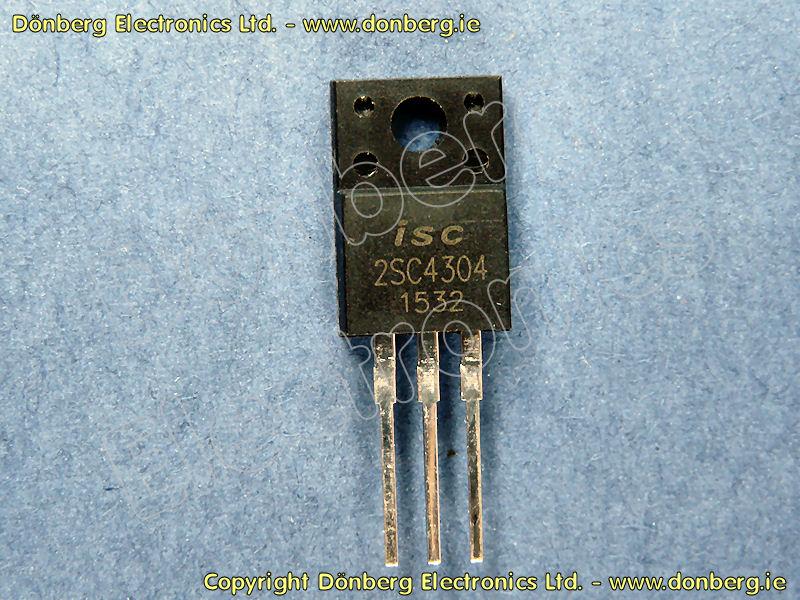 Semiconductor: 2SC4304 (2SC 4304) - TRANSISTOR SILICON NPN / 800V