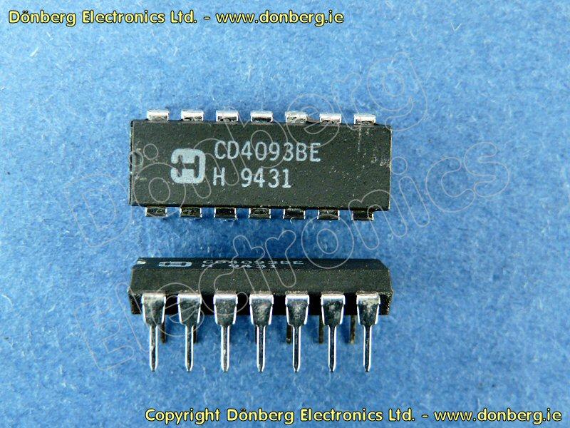 HCF4093 DIP14 Case