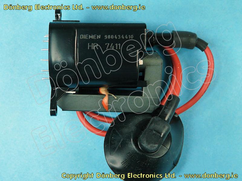 Line Output Transformer / Flyback: HR7411 (HR 7411) - 1-439