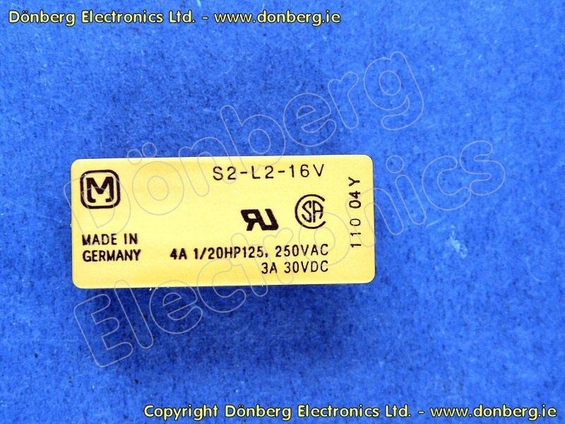 S2-L2-16V - S-RELAY-UNIVERSAL PRINTED CIRCUIT    - US$ Site