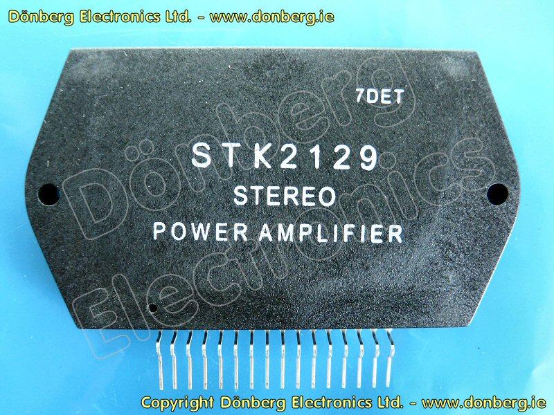 Semiconductor: STK2129 (STK 2129) - STEREO POWER AMPLIFIER.