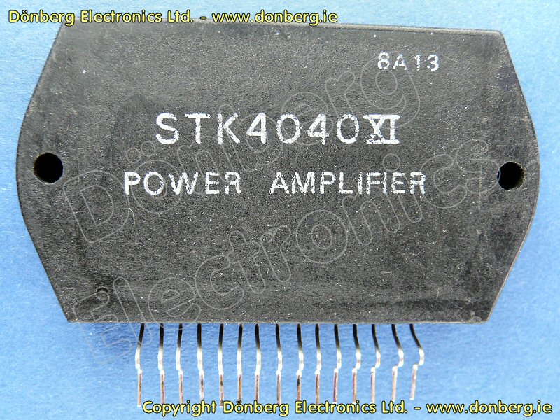 Astounding Semiconductor Stk4040X Stk 4040X 1 X 70W 42V Power Amplifier Wiring Cloud Hisonuggs Outletorg